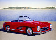 mercedes 300sl gullwing w194-43044
