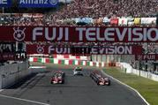 japan f1 race result schumacher engine blows alonso wins.-103117