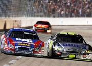 jimmie johnson is the new leader of the nextel cup 2