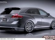 toyota venza project prepared for sema-265877