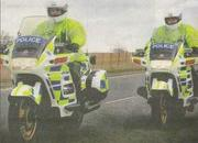 want to buy a police motorcycle going cheap... 2