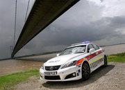 lexus is-f police car 5