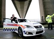 lexus is-f police car 2