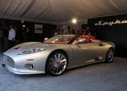 spyker c8 aileron spyder debuts at pebble beach-315743