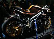 80.triumph speed triple brown racer se
