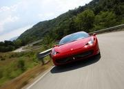 video ferrari 458 italia performance with michael schumacher-317842