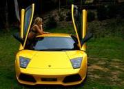 amanda ellis and lamborghini murcielago lp640-330675