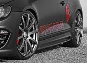 volkswagen scirocco black rocco by mr car design-331313