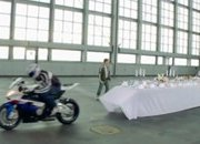 80.bmw s1000rr pulls tablecloth off table