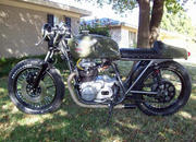 1977 billetproof customs kz 400 caf racer-357325