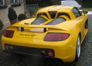 carrera gt bodykit-wearing porsche boxster gt for sale to anyone willing to buy it-360582