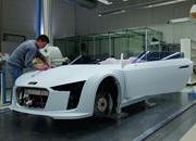 the process of building the audi e-tron spyder-379163