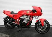 custom one-off ferrari 900 motorcycle up for auction-386293