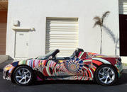 tesla roadster art car by laurence gartel-385663