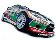 ford abu dhabi fiesta rs wrc rally car-391547