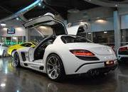 mercedes sls amg gullstream by fab design-393722