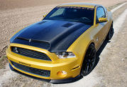ford mustang shelby gt640 golden snake-397787