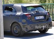 spy shots next generation mercedes a-class reveals its brand new shape-409354
