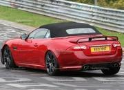 spy shots 2013 jaguar xkr-s convertible-412606