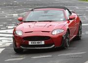 spy shots 2013 jaguar xkr-s convertible-412600