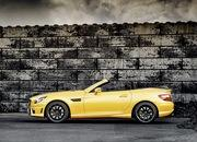 mercedes slk 55 amg streetfighter yellow-428512