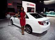 the girls of the 2012 new york auto show-448457