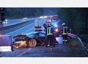 four supercars crash on the autobahn in as many days-453483