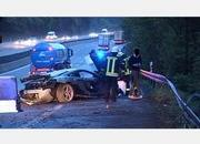 four supercars crash on the autobahn in as many days-453468