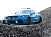 mercedes-benz sl65 amg black series by adv.1 wheels-466322