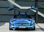 mercedes sls amg coupe electric drive-475382