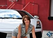 ashley models with a lamborghini gallardo and bmw m3 sport pack-474648