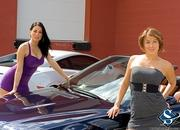 ashley models with a lamborghini gallardo and bmw m3 sport pack-474676