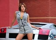 ashley models with a lamborghini gallardo and bmw m3 sport pack-474617