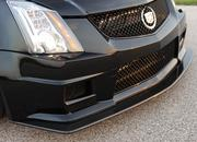 cadillac cts-vr1200 twin turbo coupe by hennessey-471686