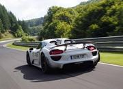 porsche 918 spyder hits 7 14 lap time at the nurburgring-474163