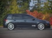 volkswagen golf r by h amp r springs 2