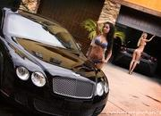 our carwash dreams come to life with two babes cleaning a ferrari 430 scuderia and a bentley continental gt-478578