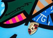 porsche 911 cabriolet art car by romero britto-485718