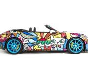 porsche 911 cabriolet art car by romero britto-485710