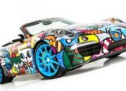 porsche 911 cabriolet art car by romero britto-485708