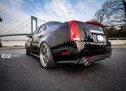 2012-cadillac cts-v with d2forged wheels