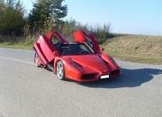 a fairly accurate ferrari enzo replica with bimmer power hits ebay-488047